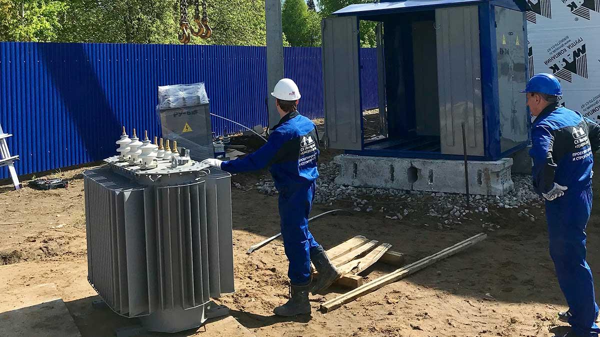Выполнения полного комплекса работ по технологическому присоединению к электрической сети напряжением 6-10 кВ