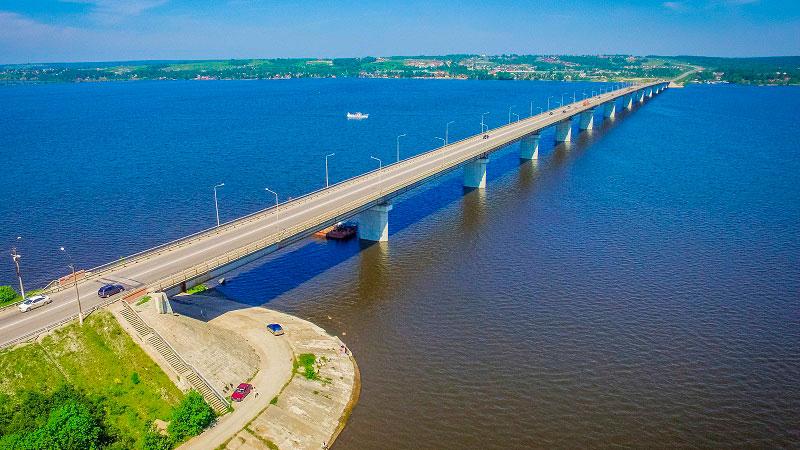Приведение в нормативное состояние систем освещения проезжей части мостового перехода через реку Чусовая