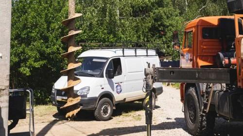 Подготовительные работы перед строительством воздушной линии 10 кВ