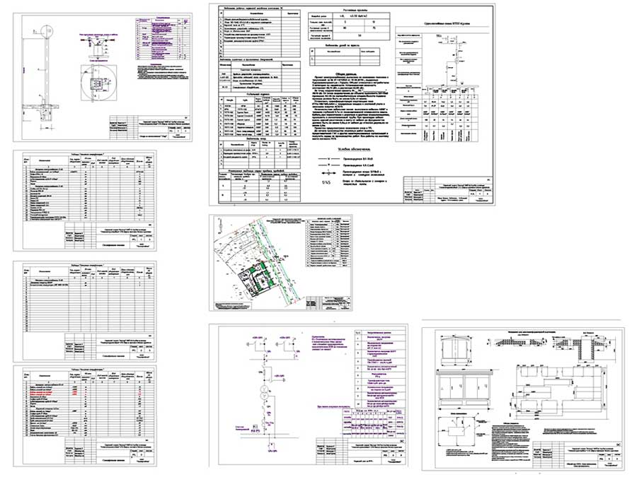 Проектирование электроснабжения в Перми