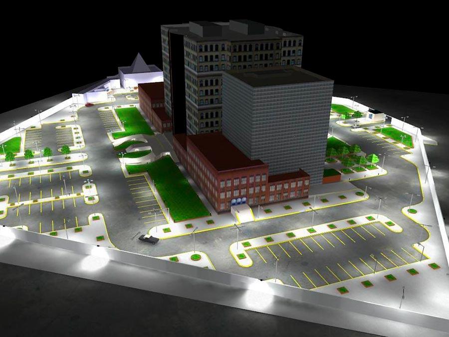 Проектирование наружнего освещения в Перми